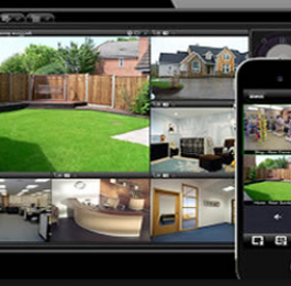 CCTV networked to phone I pad is a good way to check property whilst on holiday: Click Here To View Larger Image