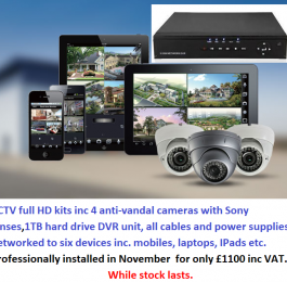CCTV November Offer: Click Here To View Larger Image