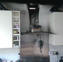 Another call out to a fire in Derby caused by bad wiring. If in doubt get your electrical installation condition report done now!!: Click Here To View Larger Image